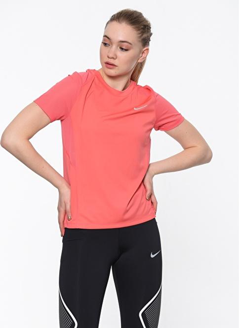 Nike Bisiklet Yaka Tişört Oranj